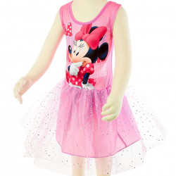 Платье для танцев Minnie WD11043 розовое